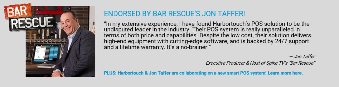 Bar Rescue POS System - Jon Taffer endorses Harbortouch