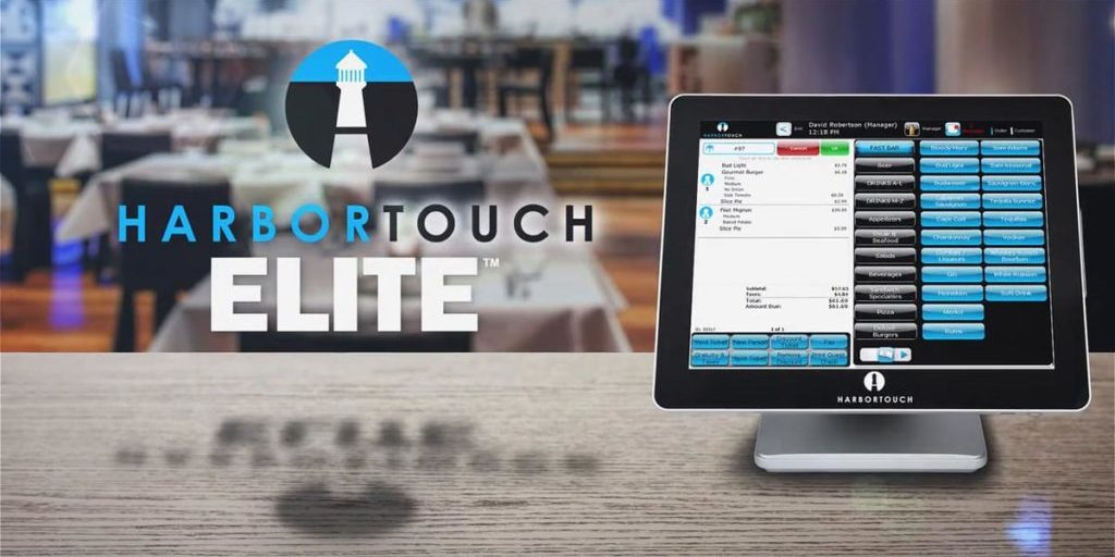 Harbortouch Bar and Restaurant Elite POS System for Hospitality